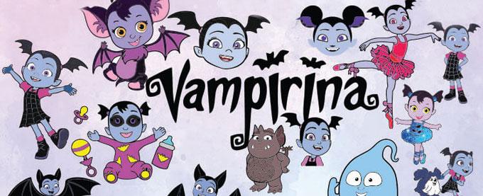 DISNEY VAMPIRINA Coloring Sheets