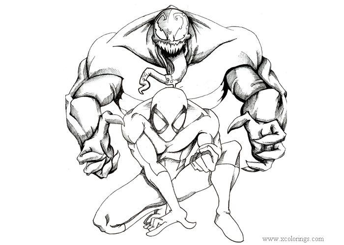 Pencil Work Of Carnage Coloring Pages Xcolorings Com