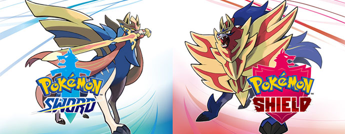 Collection of Pokemon Sword and Shield Coloring Pages