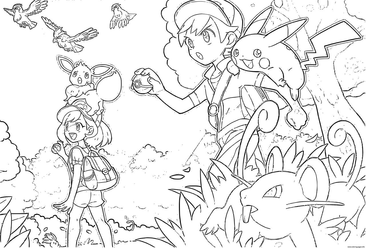 Nintendo Pokemon Sword And Shield Coloring Pages Xcolorings