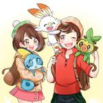Pokemon Sword And Shield Grookey Scorbunny Sobble Wit Trainers