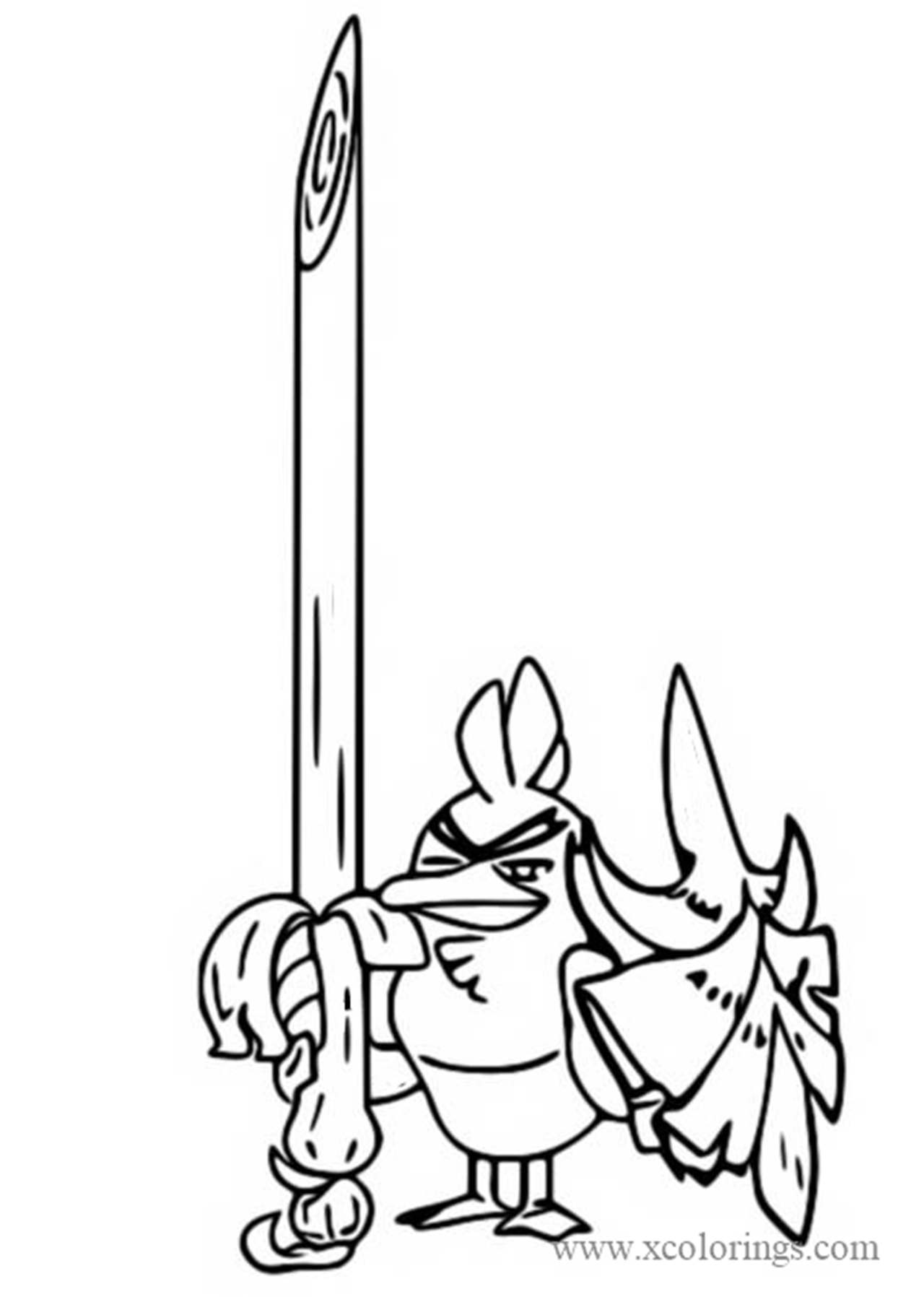 Sirfetch D From Pokemon Sword And Shield Coloring Pages
