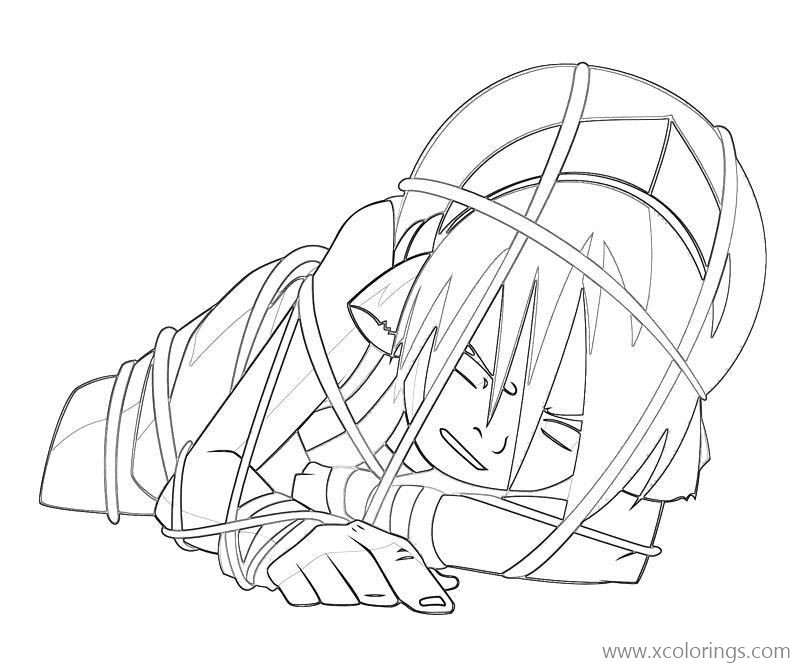 Toph From Avatar The Last Airbender Coloring Pages Xcolorings Com