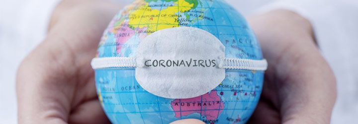 collection of Coronavirus coloring pages