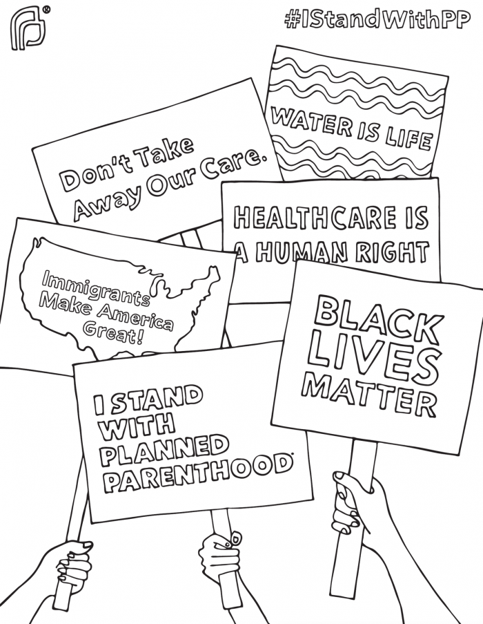 Free Black Lives Matter Coloring Pages printable