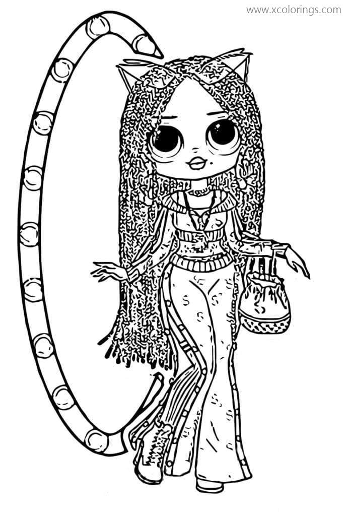 LOL Surprise OMG Dolls Swag Coloring Pages - XColorings.com