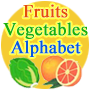 Fruits and Vegetables Alphabet Coloring Pages
