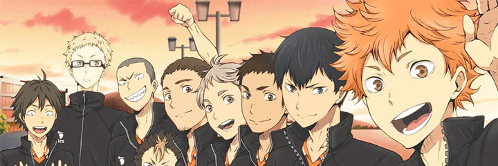 Haikyuu coloring pages series