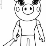 Piggy Roblox Coloring Pages - XColorings.com