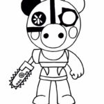 Piggy Roblox Coloring Pages Xcolorings Com