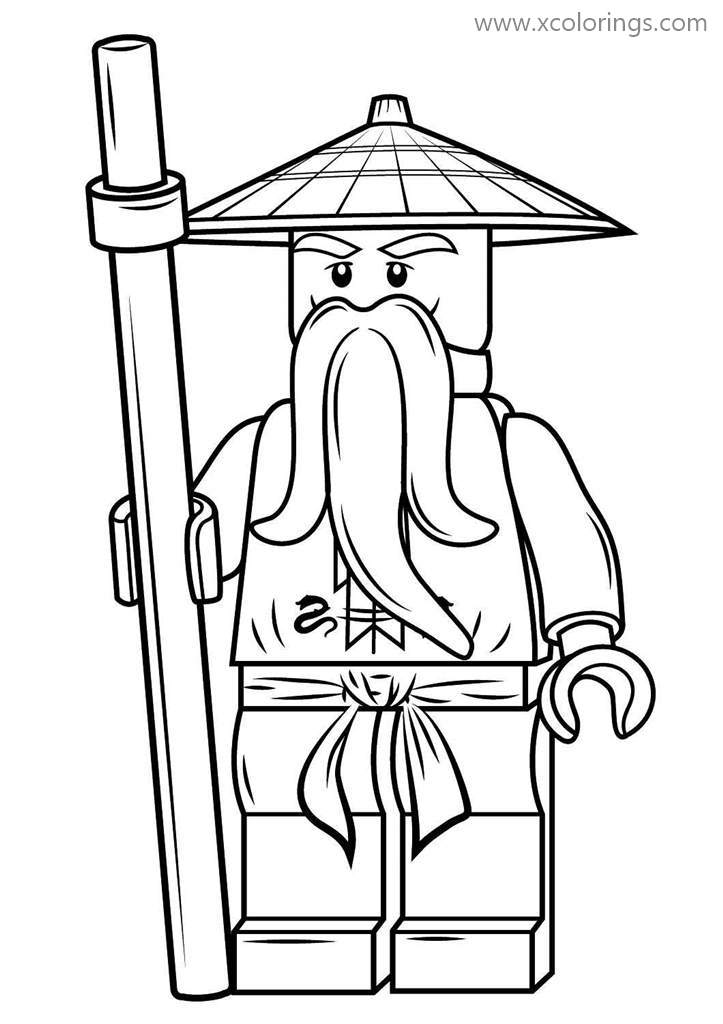 Lego Ninjago coloring pages | Free Coloring Pages | 1024x723
