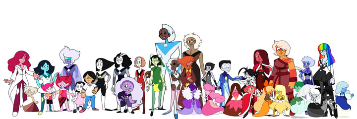 collection of steven universe coloring pages