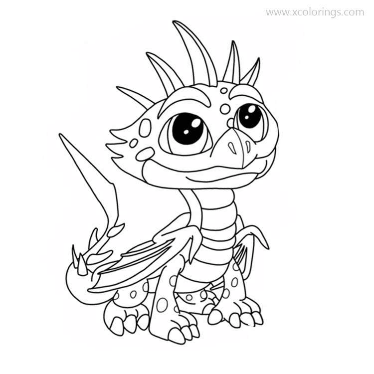 Dragons Rescue Riders Coloring Pages Cutter - XColorings.com