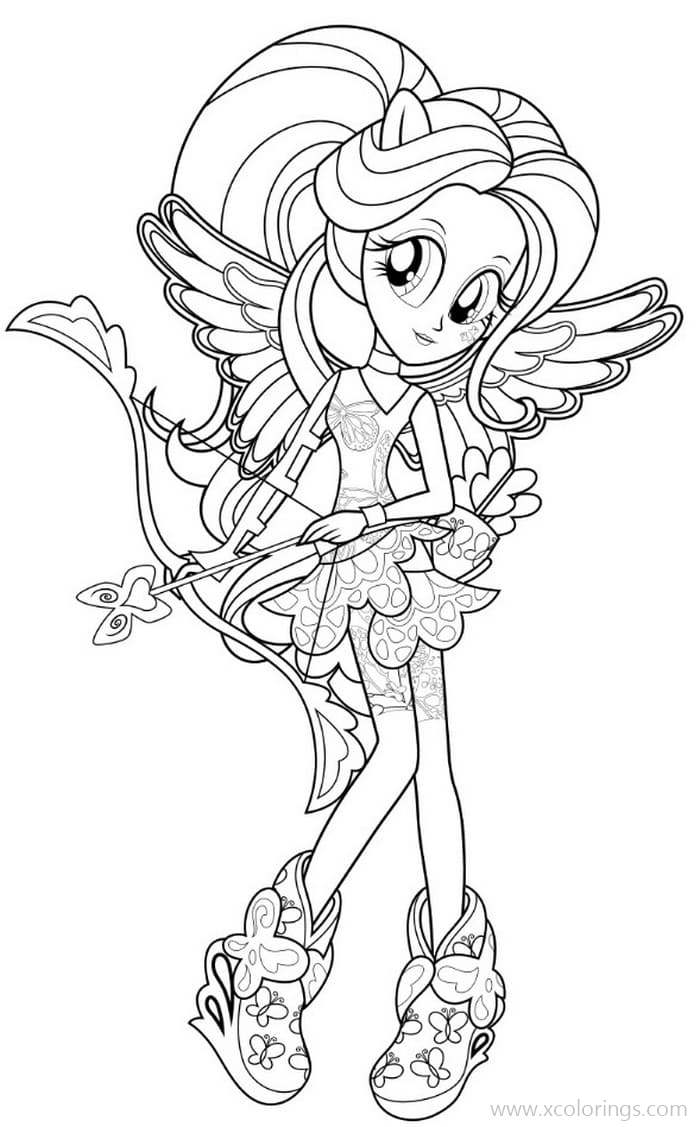 Equestria Girls Coloring Pages Mlp Rainbow Rocks Xcolorings Com