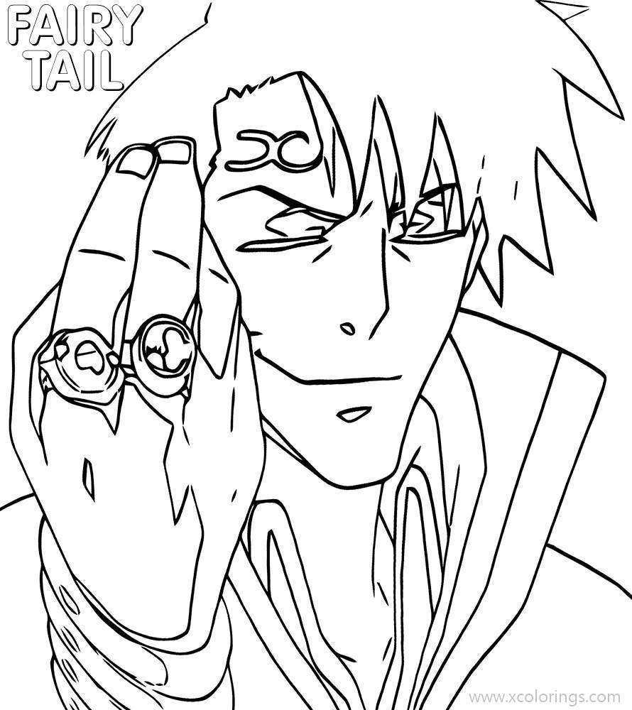 Free Fairy Tail Coloring Pages Bora printable