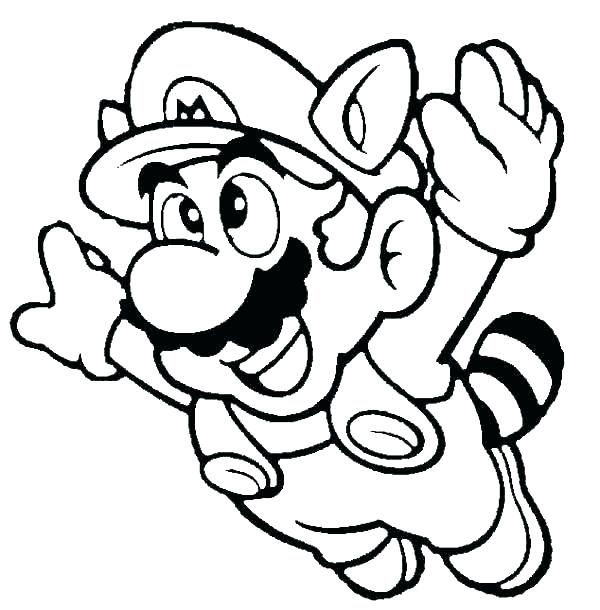 Flying Paper Mario Coloring Pages - XColorings.com