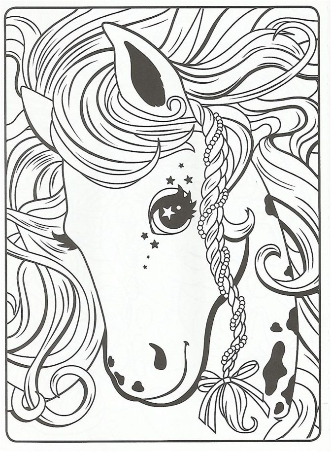 Horse From Lisa Frank Coloring Pages - XColorings.com