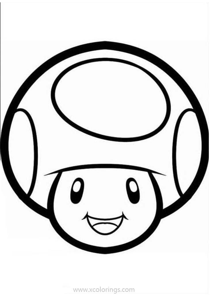 - Paper Mario Coloring Pages Mushroom - XColorings.com