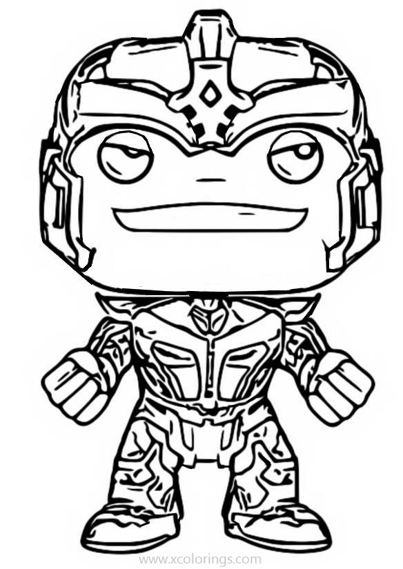 Funko Pop Marvel Coloring Pages Xcolorings Com