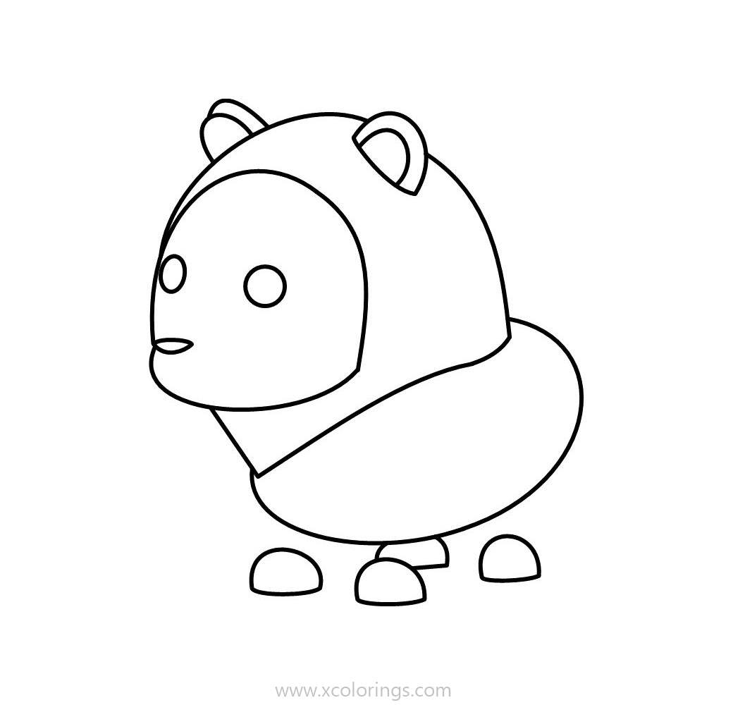 Roblox Adopt Me Coloring Pages Lion - XColorings.com