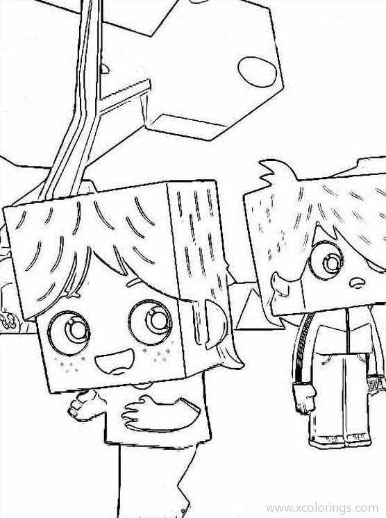 Free Yoko and His Friends Coloring Pages Boys printable