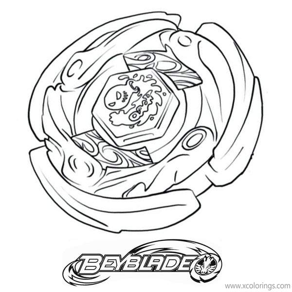 Beyblade Burst Evolution Coloring Pages Xcolorings Com