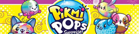 collection of Pikmi POPs coloring pages