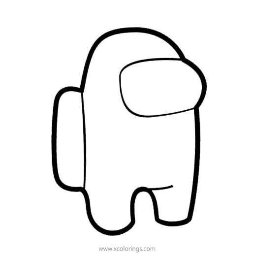 Video Game Among Us Coloring Pages - XColorings.com