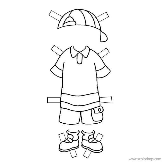 Caillou Clothes Coloring Pages Craft Activity Xcolorings Com