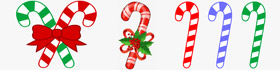 Candy Cane Coloring Pages Collection