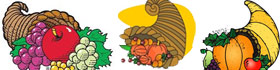 Cornucopia Coloring Pages Collection