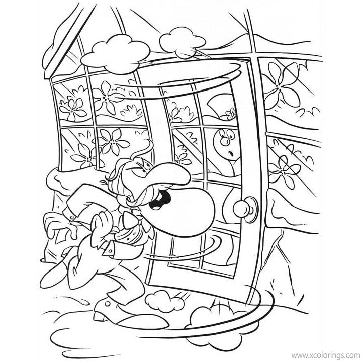 Free Frosty the Snowman Coloring Pages Professor Hinkle printable