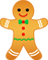 Gingerbread Man Coloring Pages Collection