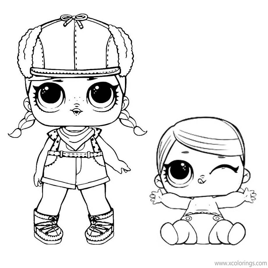 LOL Baby Coloring Pages LIL Super BB and LOL Surprise Doll ...