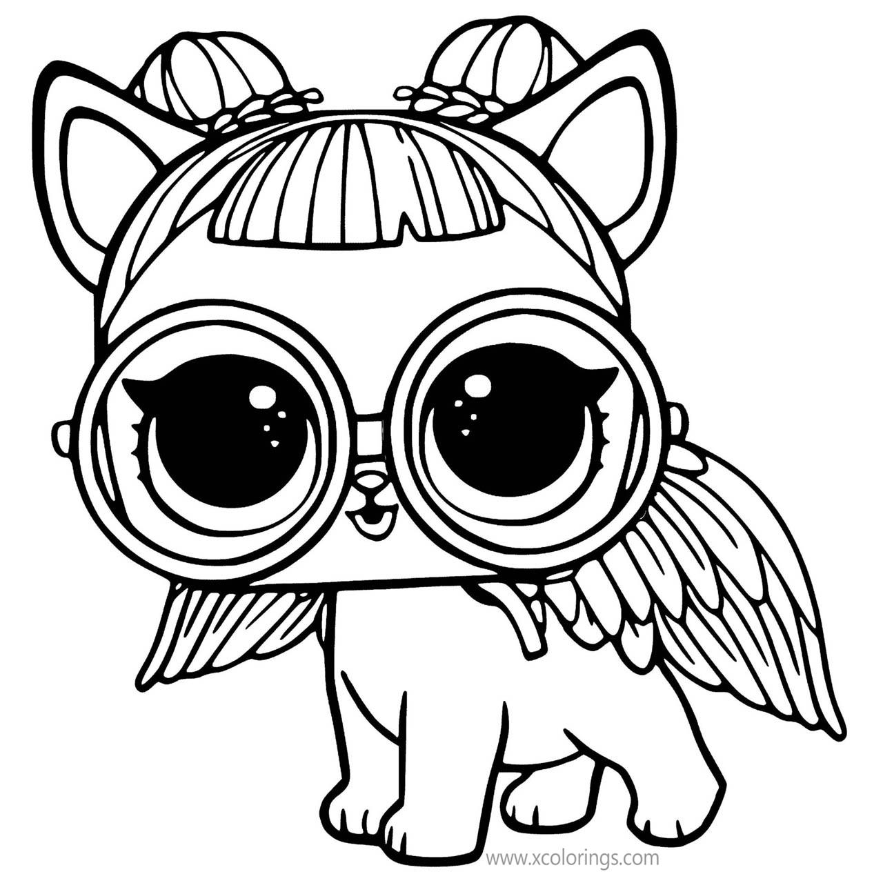 Free LOL Unicorn Coloring Pages Unipony Pet printable