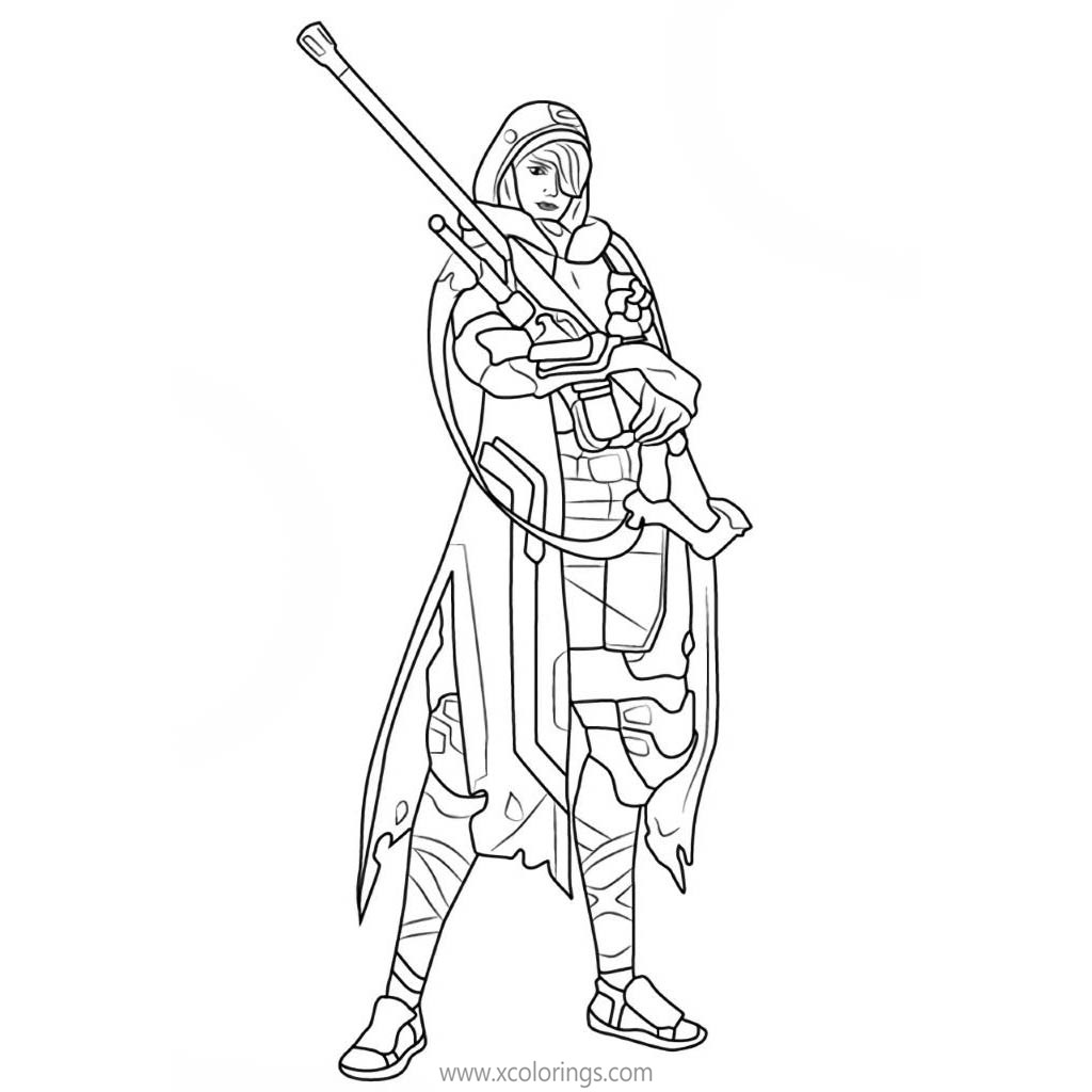 Overwatch Coloring Pages Ana Xcolorings Com