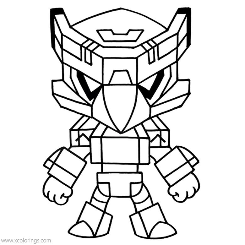 mecha crow brawl stars coloring pages  xcolorings