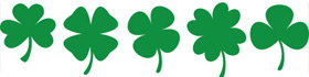 Shamrock Coloring Pages Collection