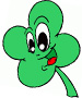 4 Leaf Clover Coloring Pages Collection