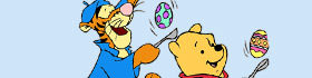 Disney Winnie The Pooh Easter Coloring Pages Collection