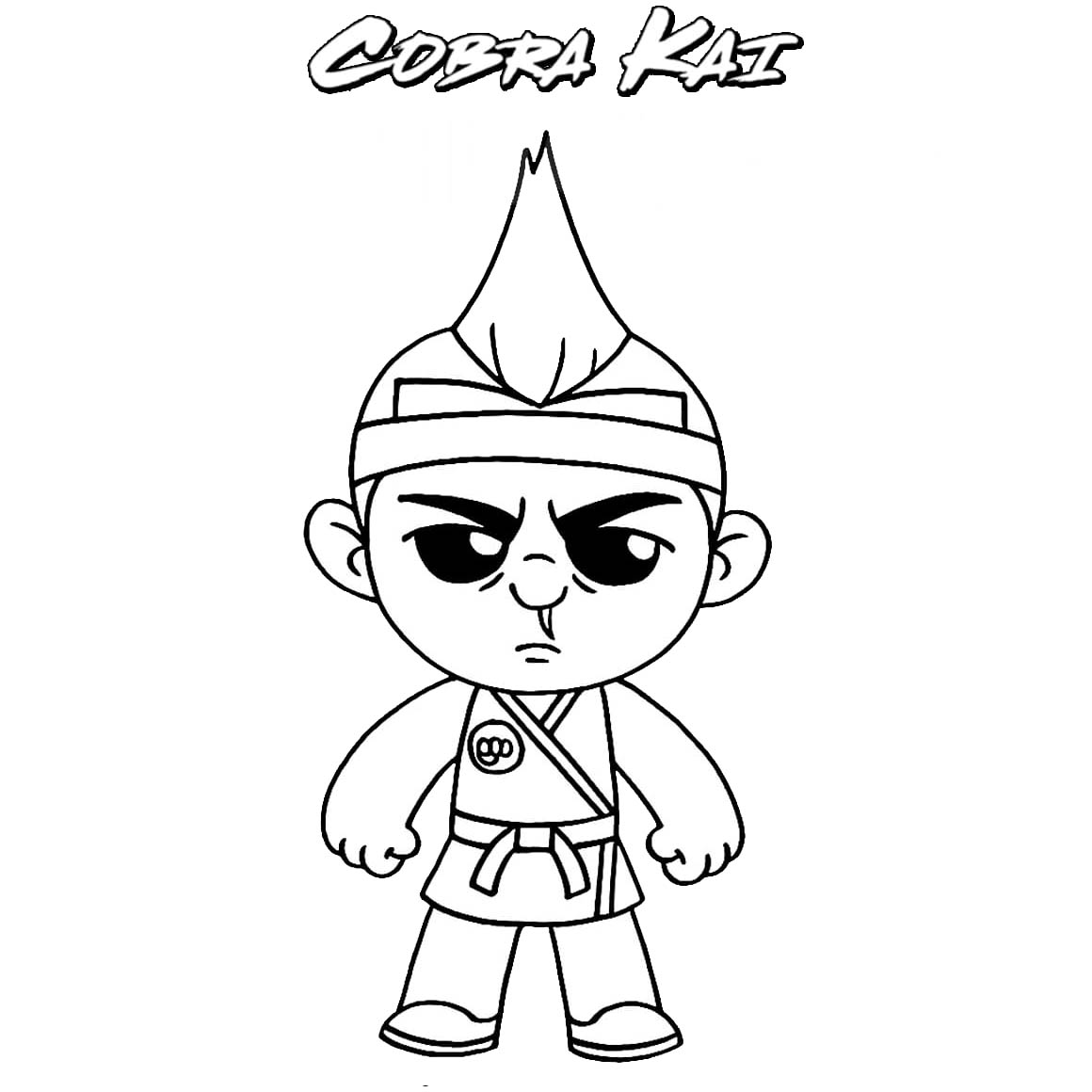 Hawk From Cobra Kai Coloring Pages Xcolorings Com