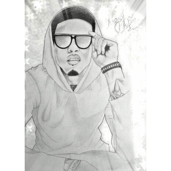 Rapper August Alsina Coloring Pages Xcolorings Com
