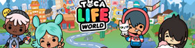 Toca Life World Coloring Pages Collection
