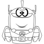 Atomic Puppet Coloring Pages