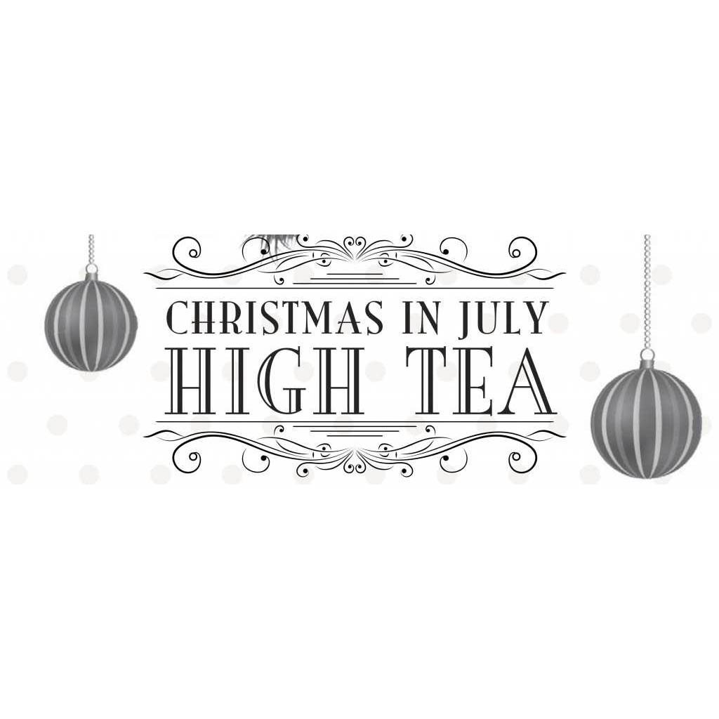 Christmas In July High Tea Coloring Pages